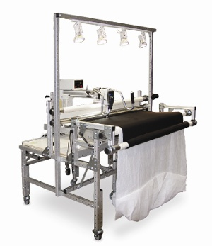 light bar for longarm quilting machine