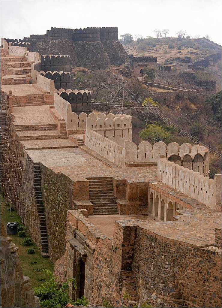 Kumbhalgarh India  city pictures gallery : عجائب وغرائب | سور الهند العظيم | موقع ...