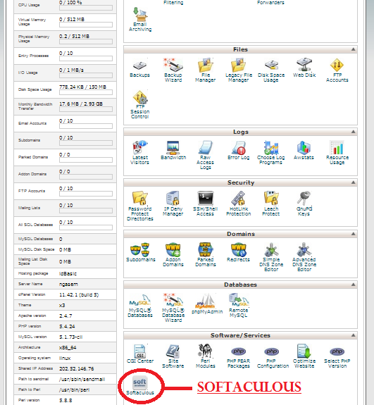How to Installing Yii Framework in cPanel via Softaculous