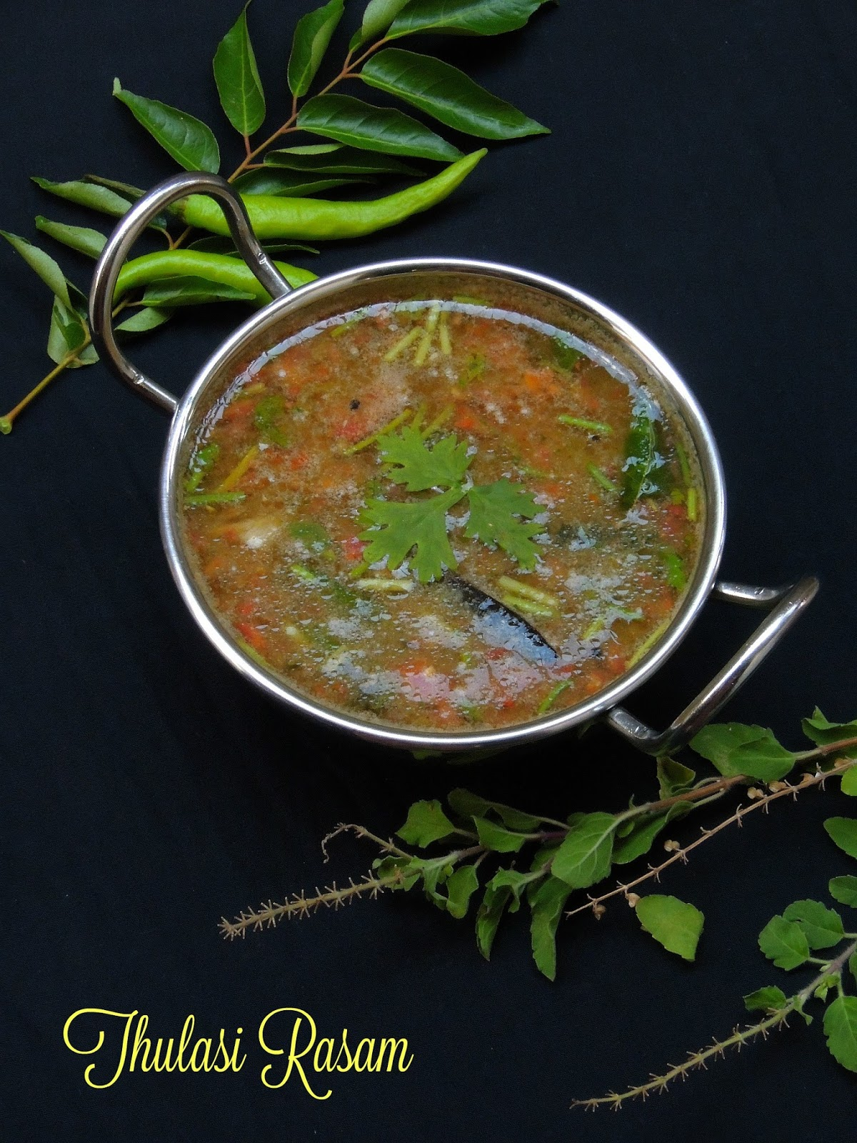 how to cook basil leaves
