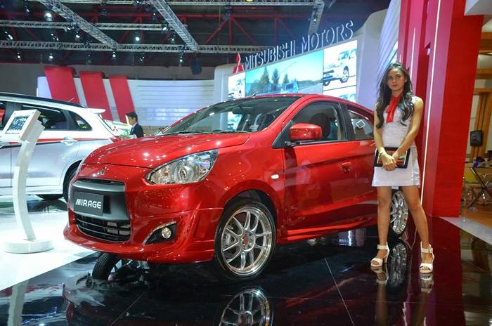 Mobil Mitsubishi Mirage Terbaru Laris Manis di Indonesia
