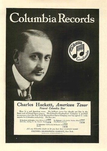 AMERICAN TENOR CHARLES HACKETT (1889-1942) CD