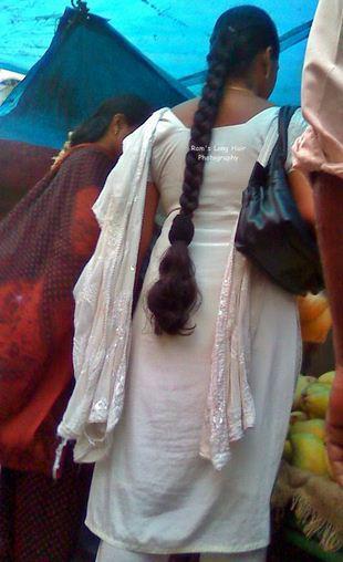 Thin long braid