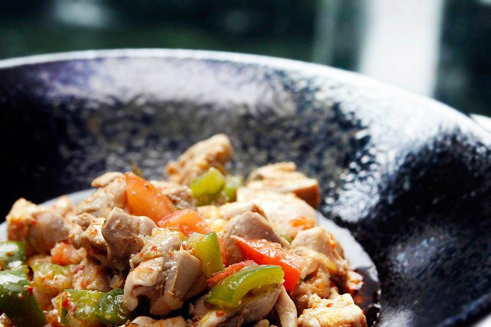 Sauteed Chicken in Turkish Spices