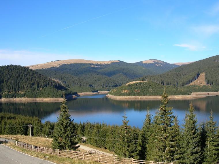 Lacul cu cer albastru!