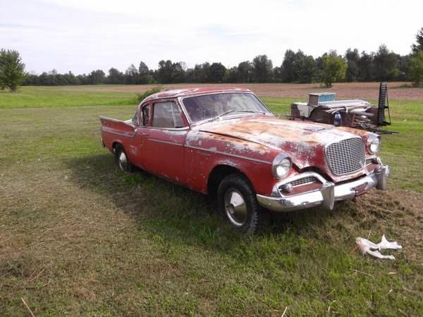 Restoration Project Cars: 1959 Studebaker Silver Hawk ...