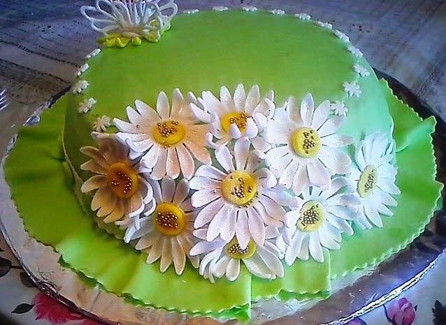 Как украсить торт мастикой домашних условиях