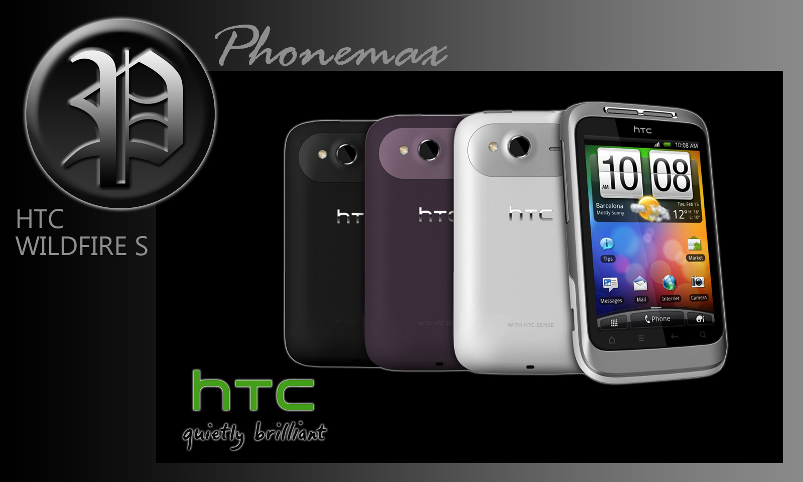 ... we'll now show you how to add words to the HTC Wildfire dictionary. To
