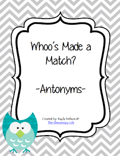 http://www.teacherspayteachers.com/Product/Antonym-Center-Owl-Themed-988722
