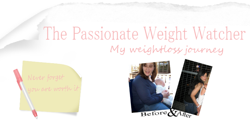 The Passionate weight watcher