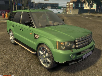 Range Rover Sport Para GTA IV