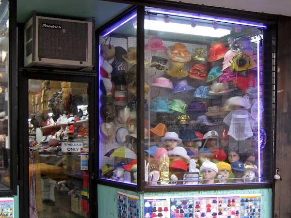 Hat Box - Yurim Trading on 6th Ave. near 29th St.