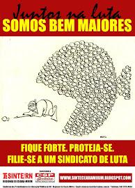Campanha de Filiação do Sinte/RN de Ceará-Mirim
