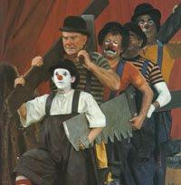 ... de mis pelis favoritas: I Clowns - 1970 - de Federico Fellini - (Los Payasos)