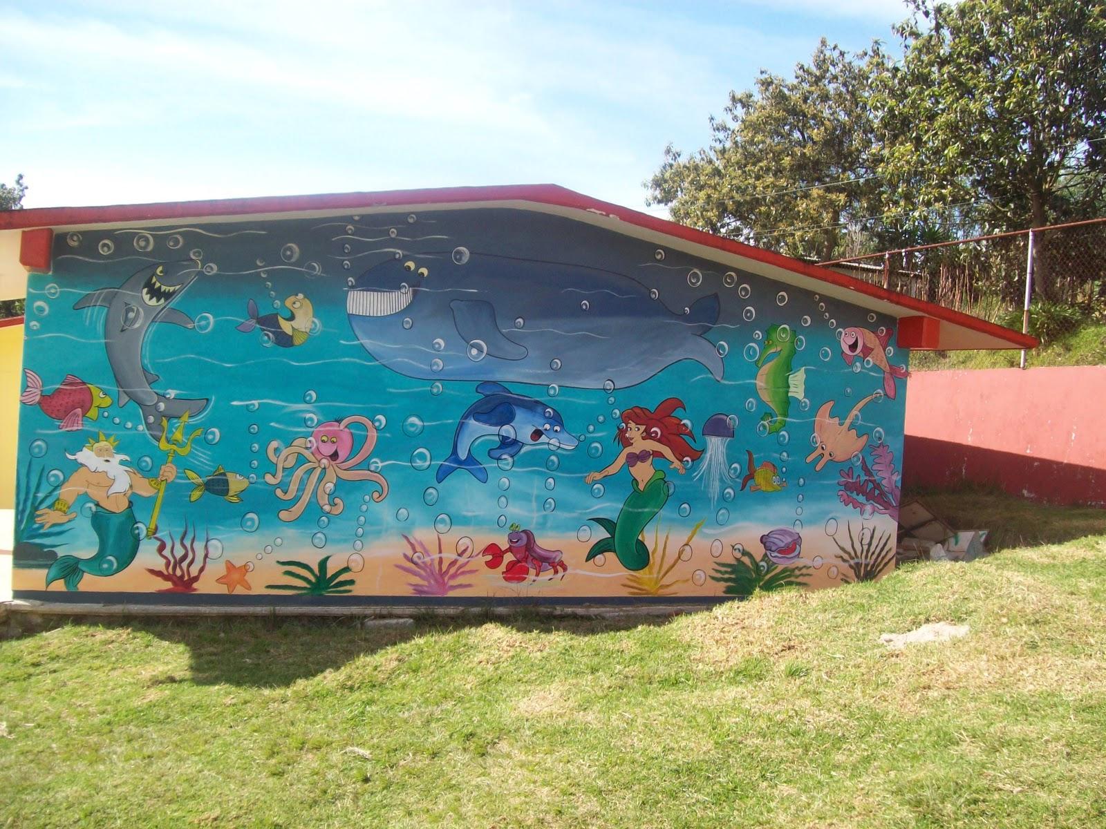 Murales Para Jardin De Ni Os Imagui