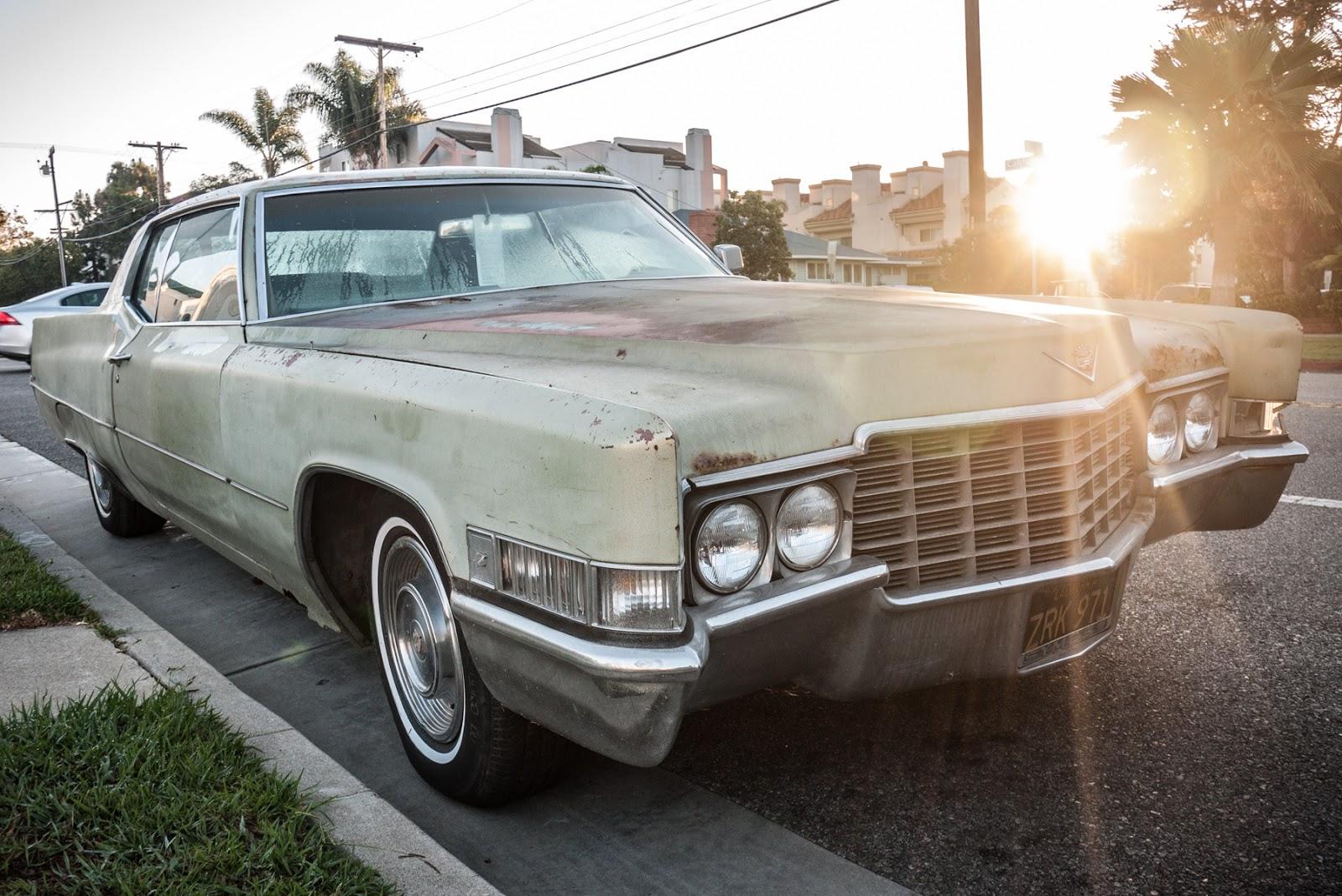 the street peep 1969 cadillac coupe deville. Black Bedroom Furniture Sets. Home Design Ideas