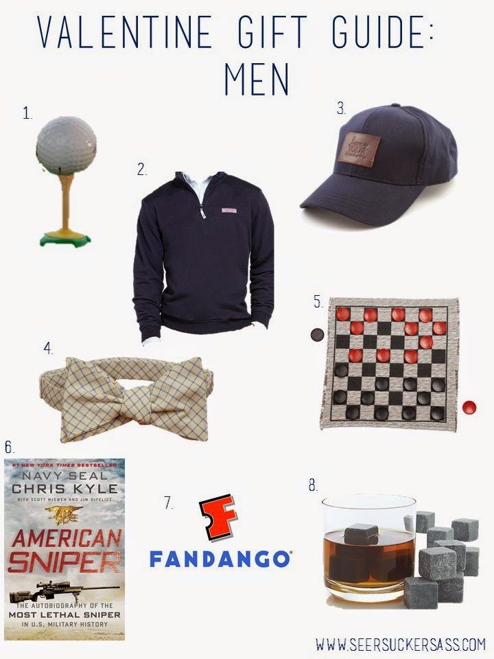 Valentine's Day Gift Guide:  Men