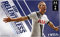 Spurs fans would have been hoping to see him  wearing the new 2015/16 shirt next season.