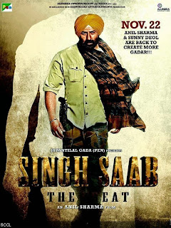Singh Saab The Great (2013) - Bollywood Hindi Movie First look Poster