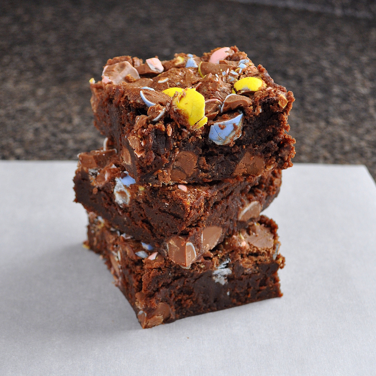 Cadburys Mini Cadbury Mini Egg Brownies