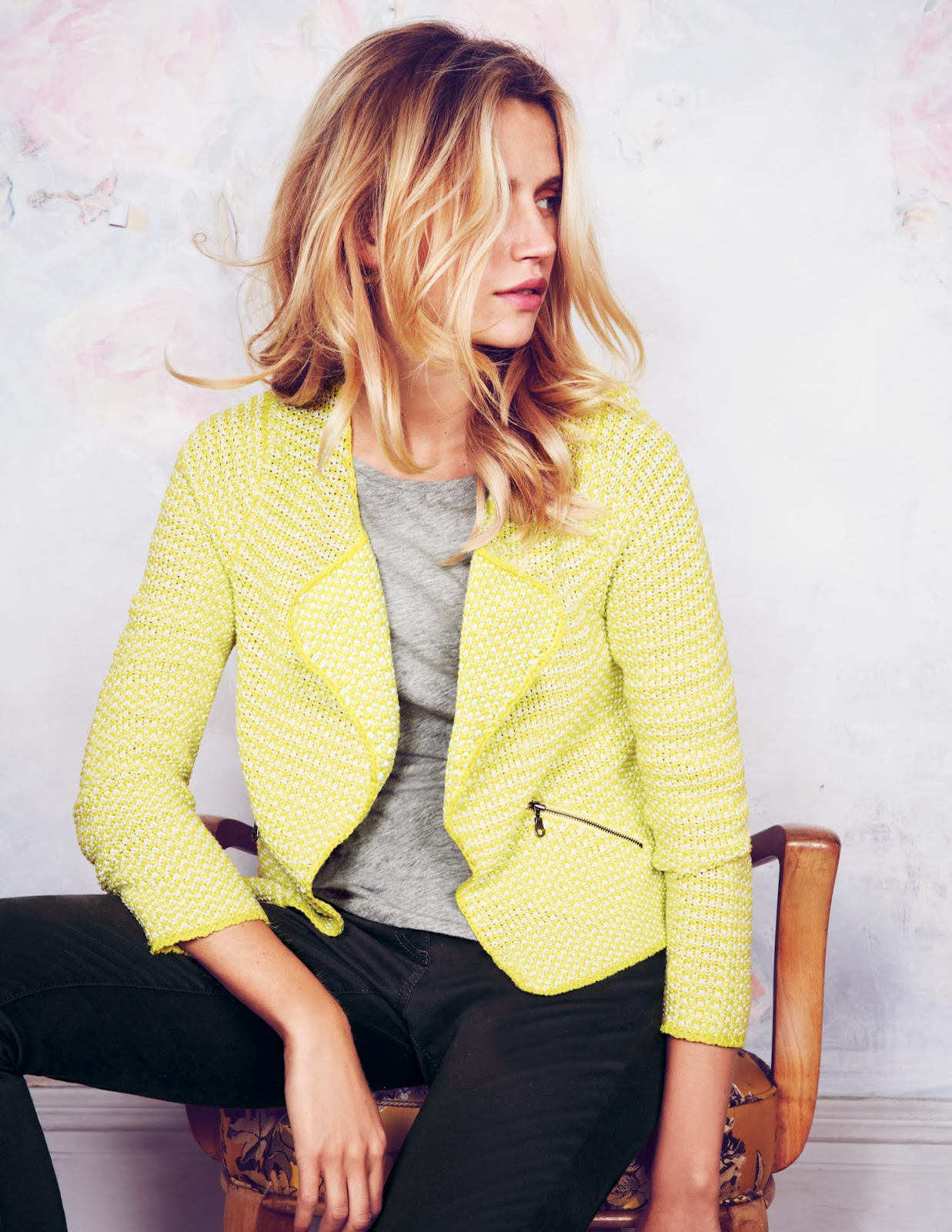 Style guile my pick of sunny yellow pieces from the high for Boden yellow coat