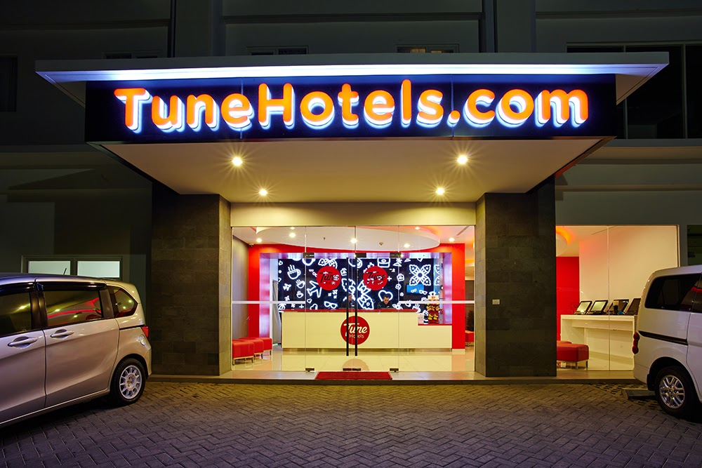 Lokasi Tune Hotel Solo