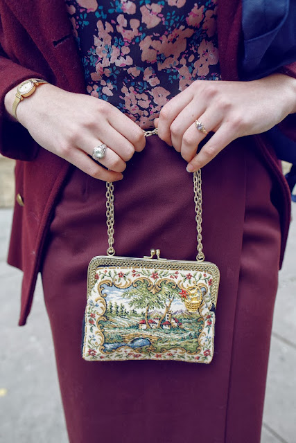 fashion, style, blogger, detail, tapestry, pretty, accessories