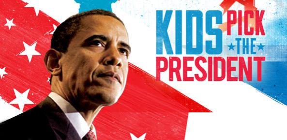 Nickalive kids elect president barack obama the winner of the united