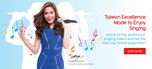 MADE TO ENJOY SINGING: Taiwan Excellence brings you the newest online contest