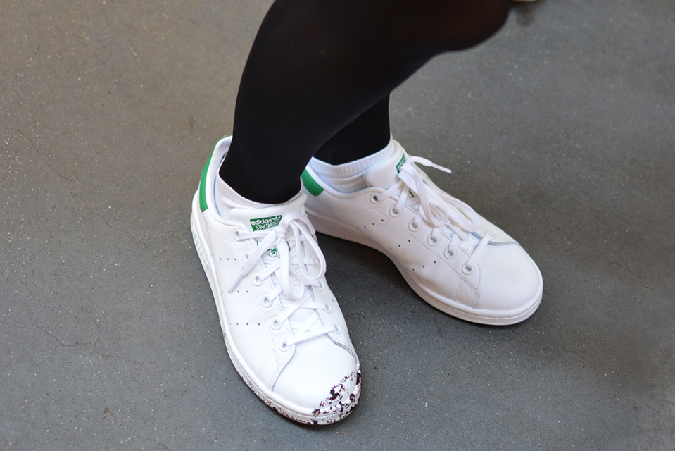 Stan Smith Argent Or