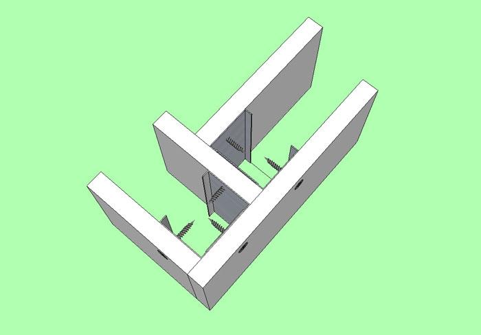 Cloisons en placo pl tre ba13 comment for Comment couper les plinthes en angle