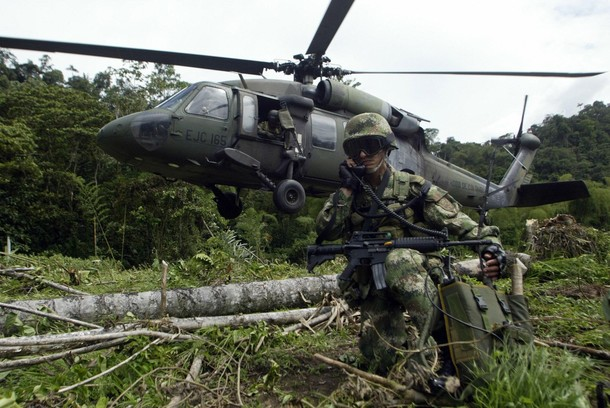 ejercito colombia: