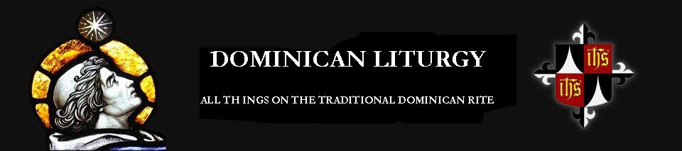 Dominican Liturgy