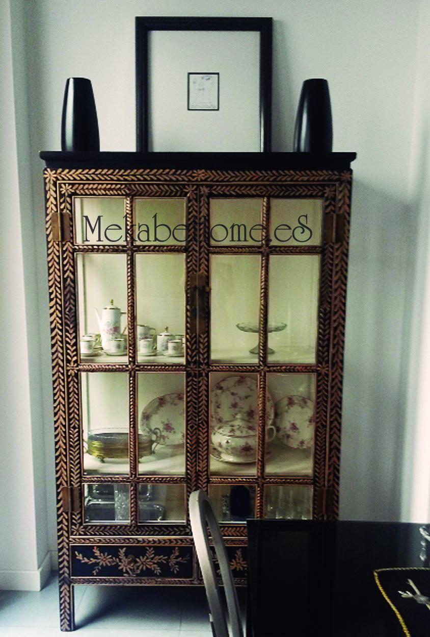 Mekabe home vuestras fotos vitrina oriental - Armario de boda chino ...
