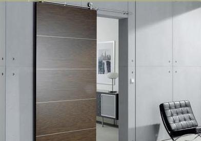 Fotos y dise os de puertas puertas corredizas de madera for Puerta corrediza de madera