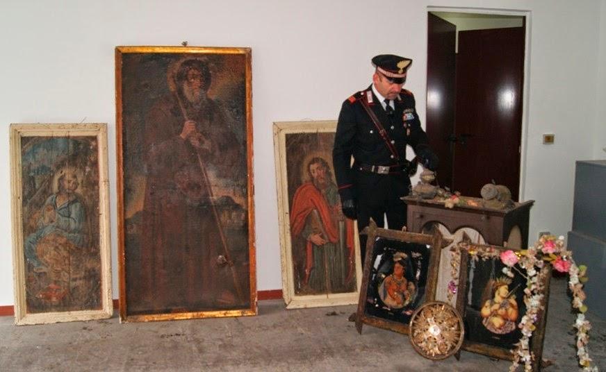 Recuperata refurtiva dai Carabinieri