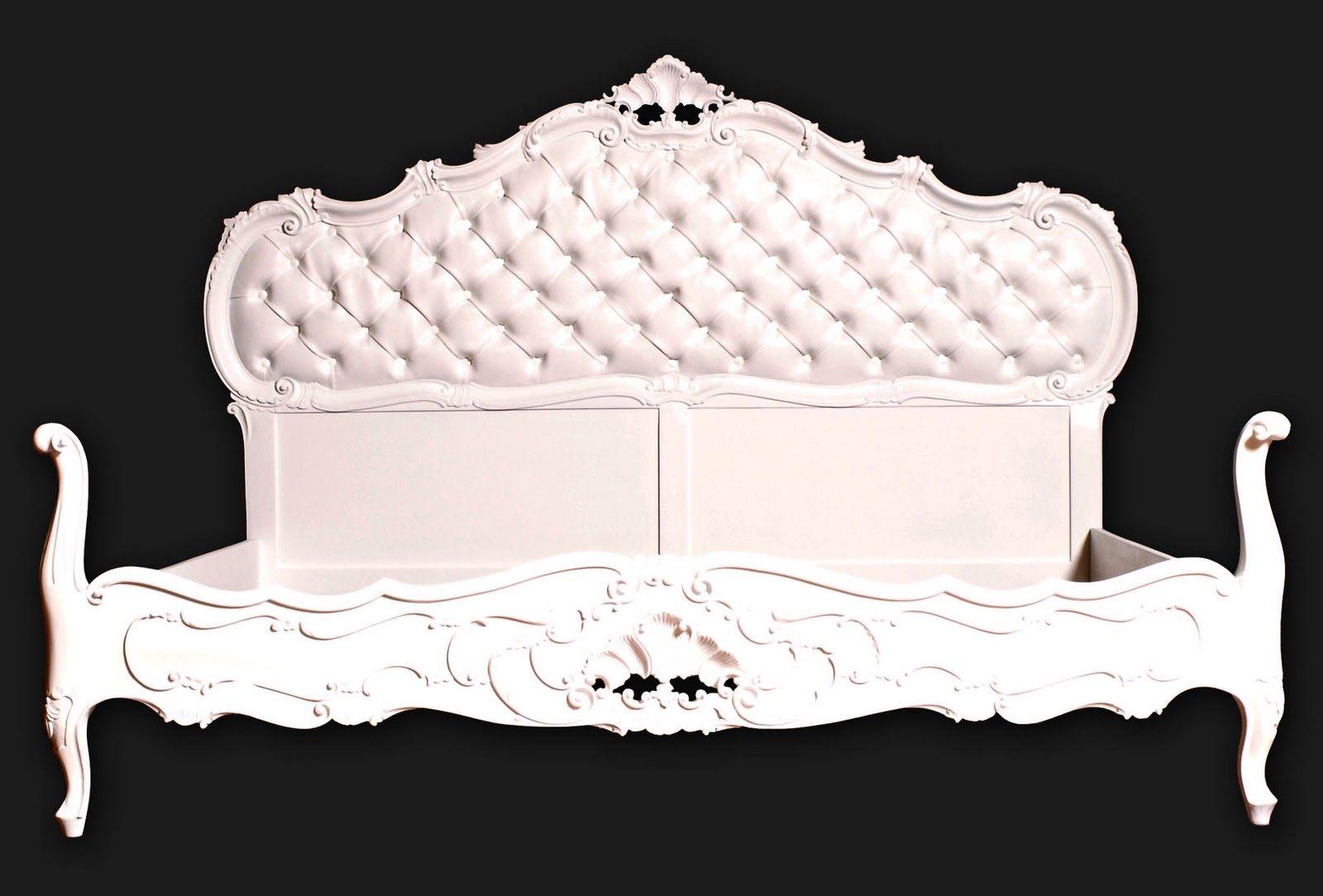 Design e moda nello stile barocco maggio 2011 - Letto barocco moderno ...