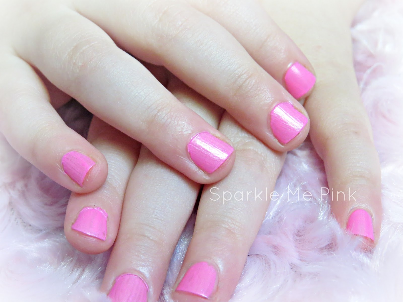Sparkle Me Pink: How To Give Your 2 Year Old A Manicure