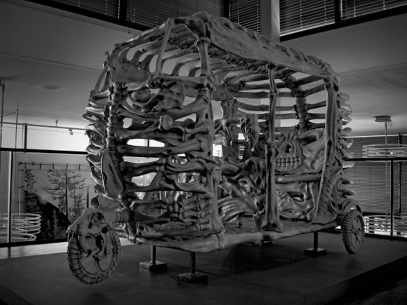 Bone Art Car by Jitish Kalla