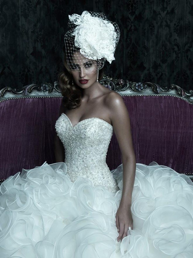 Allure Couture Fall 2012 My Dress Of The Week Belle The Magazine