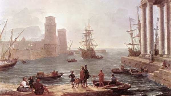 perjalanan Odysseus, benua amerika, Phoenecian