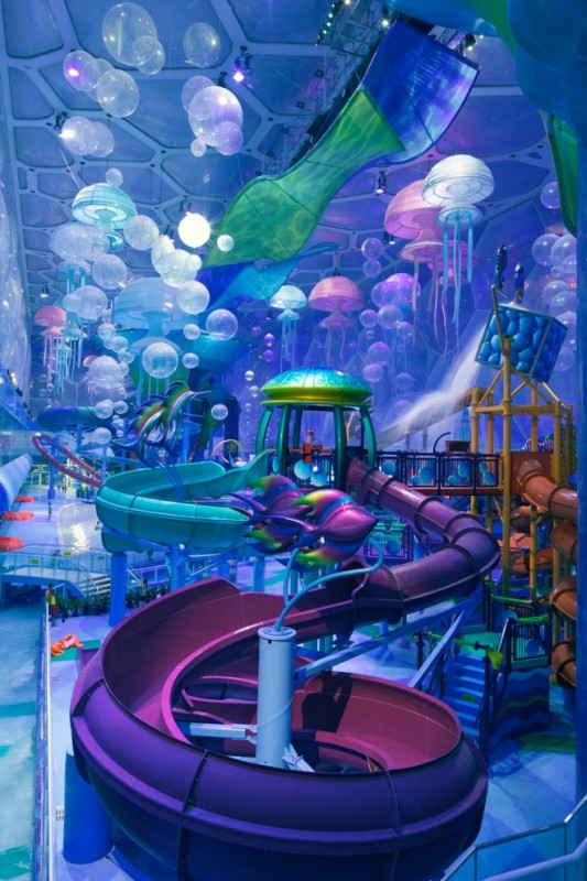 Photo of playground in the waterpark