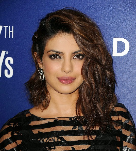 Priyanka Chopra's One-Sided Hairstyle