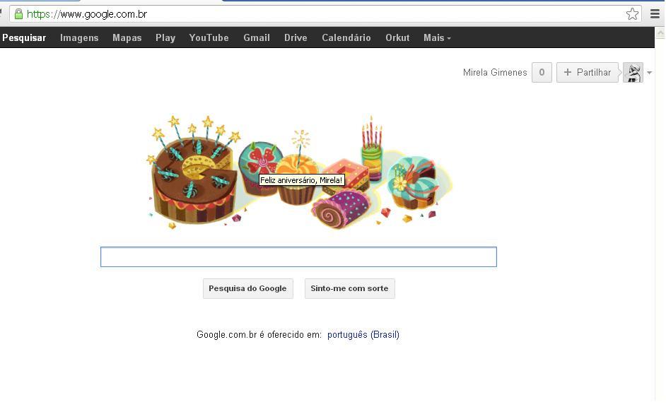 Doodle da Google, homenagens que não param, chegam também aos usuários Google. 2