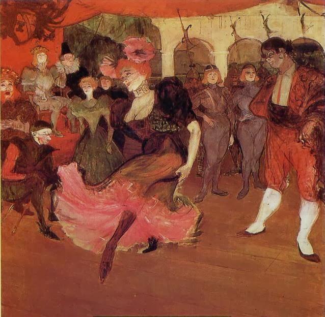 Marcelle Lender dansant le boléro dans Chilpéric - Toulouse-Lautrec