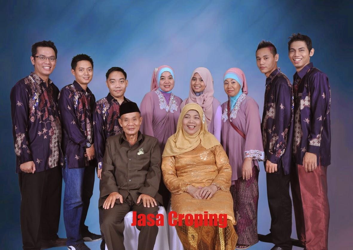 Jasa Croping Foto Keluarga