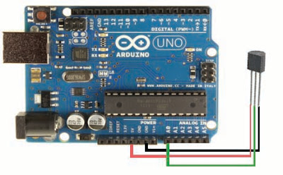 LM35 circuit with Arduino