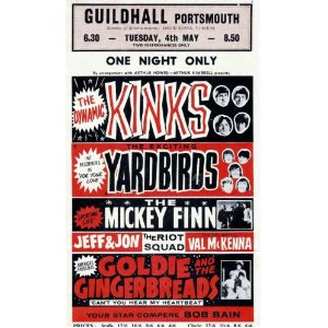 Pop Poster for one night stand at the Guildhall