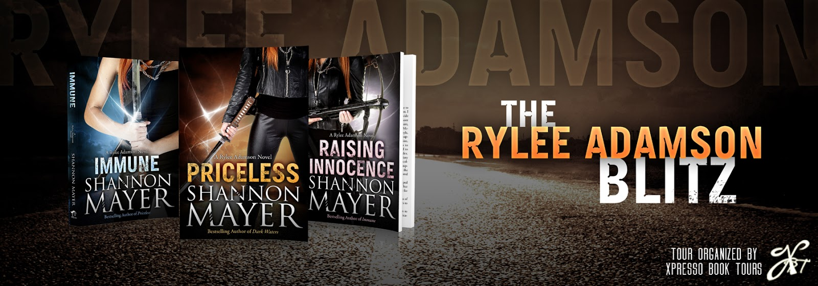 {Character Interview+Giveaway} Rylee Adamson Series by Shannon Mayer