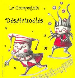 La Cie DésArtmélés: marionnettes, langues, arts du cirque et de la rue.